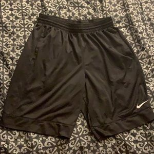 Nike black athletic shorts